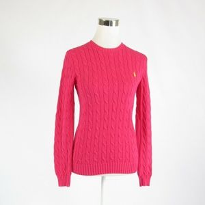 Ralph Lauren pink cotton sweater M
